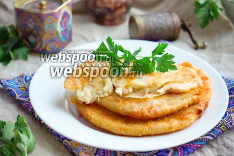 Фото Катлама с сыром и ветчиной