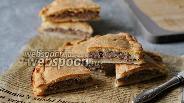 Фото рецепта Мясной пирог из теста на закваске