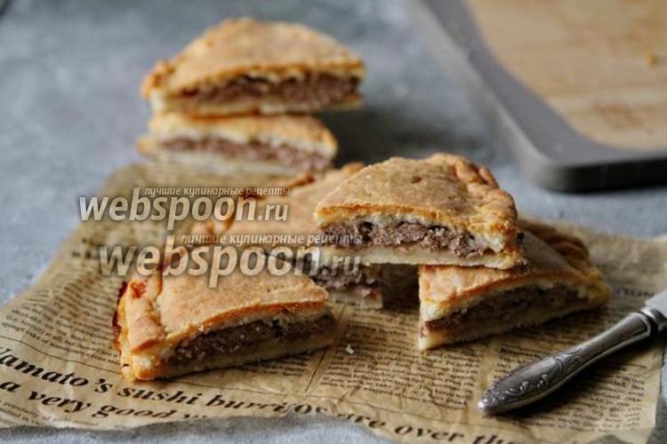 Фото Мясной пирог из теста на закваске