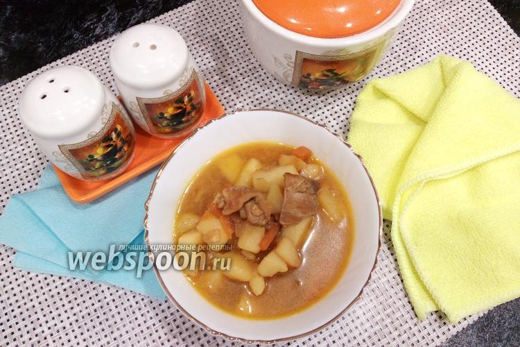 Фото Шурпа из курицы с соевым соусом