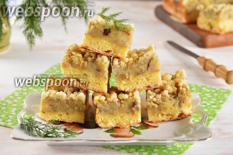 Фото Картофельный пирог с грибами