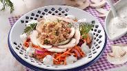 Фото рецепта Салат из консервированного тунца с шампиньонами