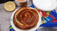 Фото рецепта «Улитка» из слоёного теста с сахаром и корицей