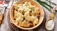 Фото рецепта Вареники с картошкой и квашеной капустой