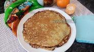 Фото рецепта Блинчики с цедрой мандарина и ванилином