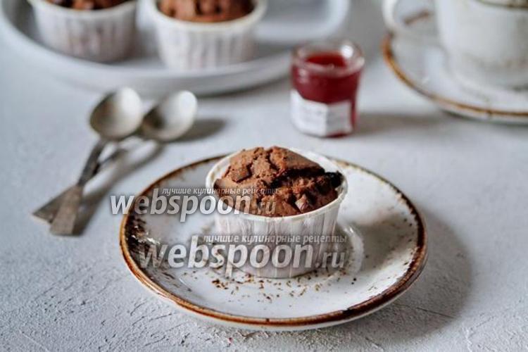 Фото Шоколадные кексы на желтках