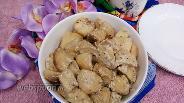 Фото рецепта Картофельные дольки в духовке в рукаве с майонезом
