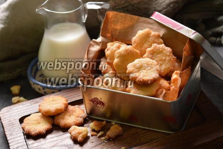 Фото Быстрое печенье на кефире