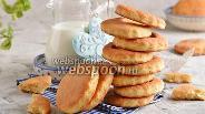 Фото рецепта Творожно-кукурузное печенье