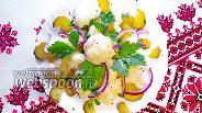 Фото рецепта Салат из цветной капусты от Клопотенко