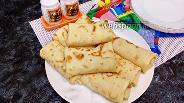 Фото рецепта Блинчики с рисом и яйцом