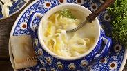 Фото рецепта Молочный суп с лапшой