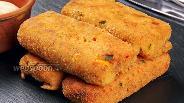 Фото рецепта Картофельные палочки с фаршем. Видео-рецепт