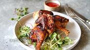 Фото рецепта Молодой цыплёнок в остром маринаде