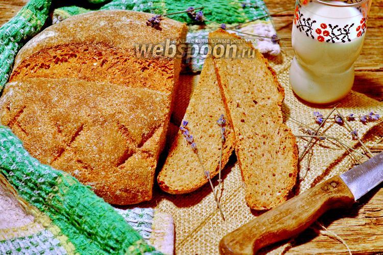 Фото Пшенично-ржаной хлеб на закваске