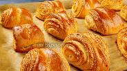 Фото рецепта Венские ореховые булочки. Видео-рецепт