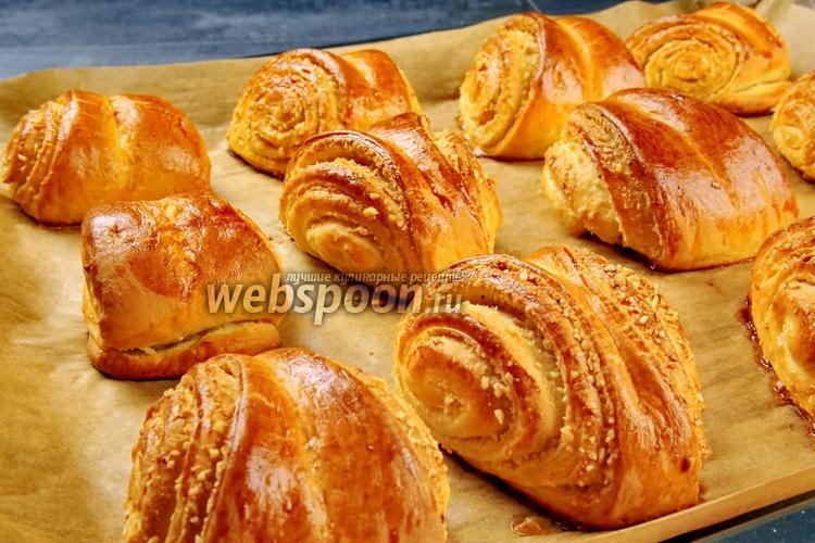 Фото Венские ореховые булочки. Видео-рецепт