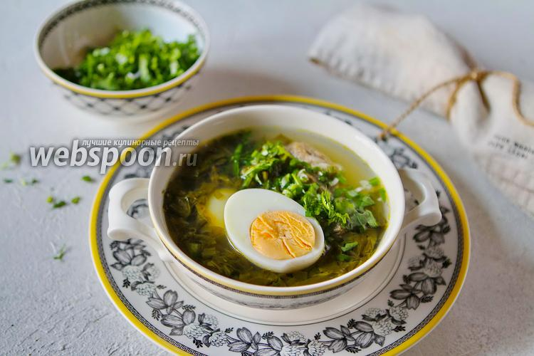 Фото Щавелевый суп (Шовул шурпа) из баранины