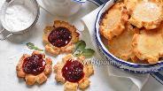 Фото рецепта Творожно-рисовое печенье