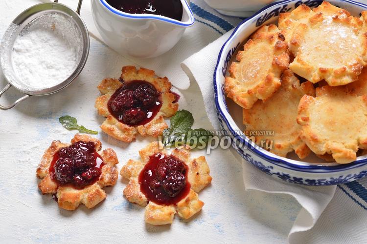 Фото Творожно-рисовое печенье