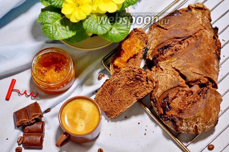 Фото Шоколадный хлеб на закваске