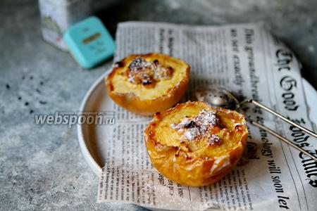 Фото рецепта Запечённые яблоки с рикоттой