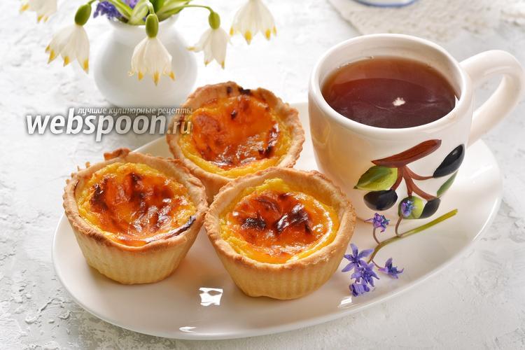 Фото Португальские пирожные Паштейш