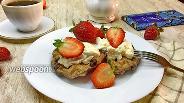 Фото рецепта Шоколадные венские вафли