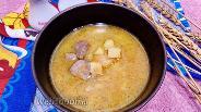 Фото рецепта Тушёный картофель с свиной печенью