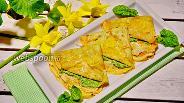 Фото рецепта Блины с рикоттой и шпинатом