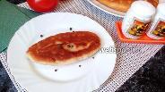 Фото рецепта Пирожки с копчёным сыром и яйцом