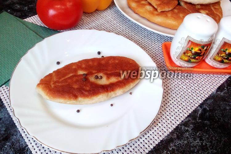 Фото Пирожки с копчёным сыром и яйцом