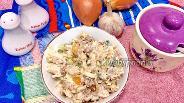 Фото рецепта Салат с тунцом и перцем с пекинской капустой