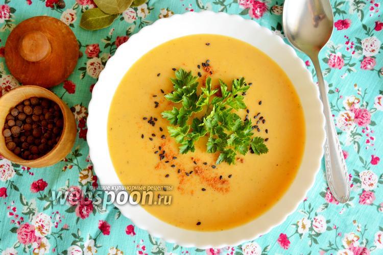 Фото Веганский картофельный суп-пюре