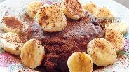 Фото рецепта Кремовый шоколадно-банановый десерт