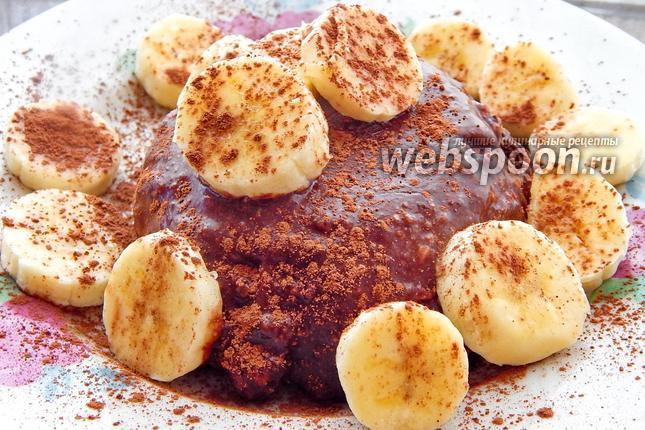 Фото Кремовый шоколадно-банановый десерт