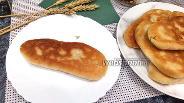 Фото рецепта Пирожки с картофелем, шампиньонами и копчёным сыром