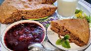 Фото рецепта Постный пирог на чайной заварке