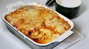 Фото рецепта Тортильони с соусом Болоньезе