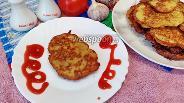 Фото рецепта Драники с копчёным сыром