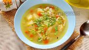 Фото рецепта Суп с чечевицей и курицей