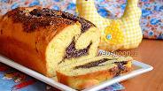 Фото рецепта Завиванец с маком на закваске Левито Мадре