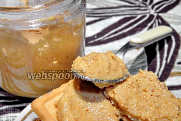 Фото Арахисовая паста из одного ингредиента