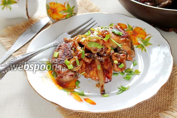 Фото Куриное филе на сковороде с кардамоном
