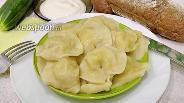 Фото рецепта Вареники с картошкой на заварном тесте