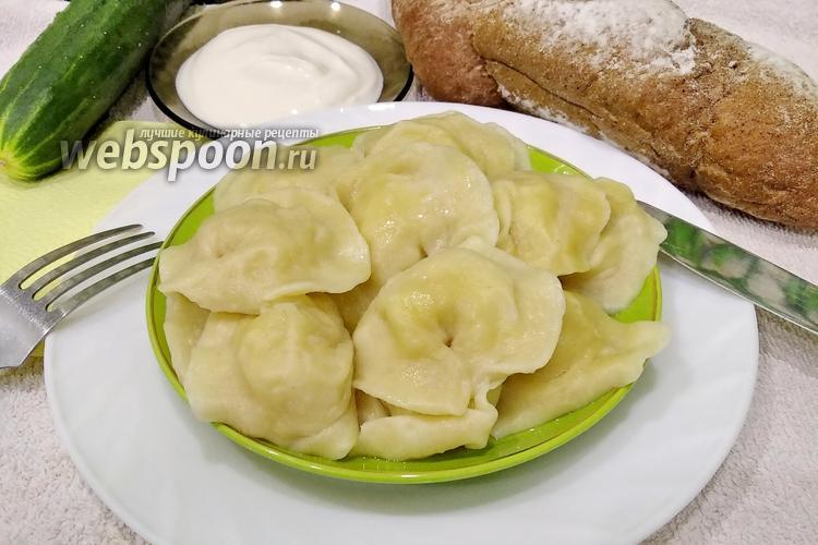 Фото Вареники с картошкой на заварном тесте