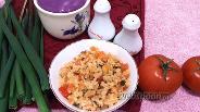Фото рецепта Булгур с помидорами и перцем