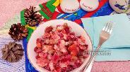Фото рецепта Винегрет с горошком и майонезом