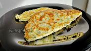 Фото рецепта Сырная лепёшка на сметане
