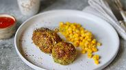 Фото рецепта Куриные котлеты с брокколи в духовке